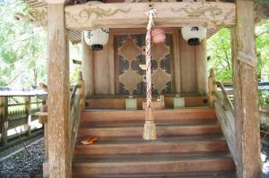 天川村・・伊波多神社