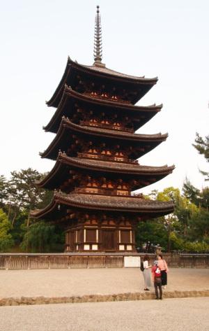 興福寺五重の塔