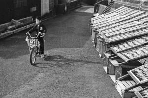 1980年尾鷲市街角