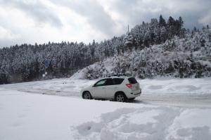 雪の高野山