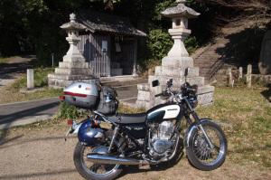 CB400SSツーリング熊野古道