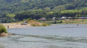 カヌー紀ノ川