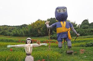 明日香村稻淵かかし祭り
