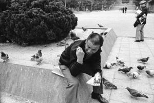 大阪天王寺公園1979年11月
