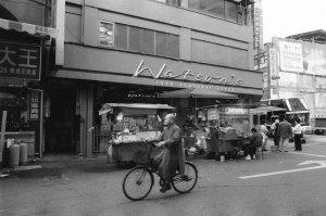 台湾朝の街角