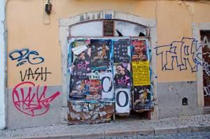 ポルトガルの落書き