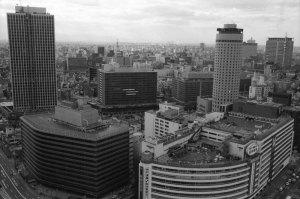 1979年大阪駅前