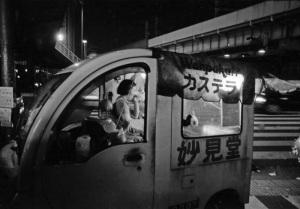 大阪駅前風景