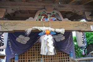 大神社の樟