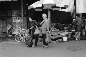 大阪街角にて