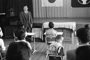 勝浦太田出合小学校卒業式