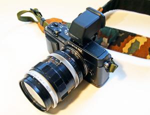 キャノンFL55mmf1.2