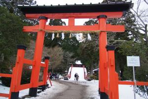 丹生都比米神社初詣